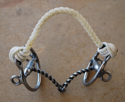 soft twist bit with noseband